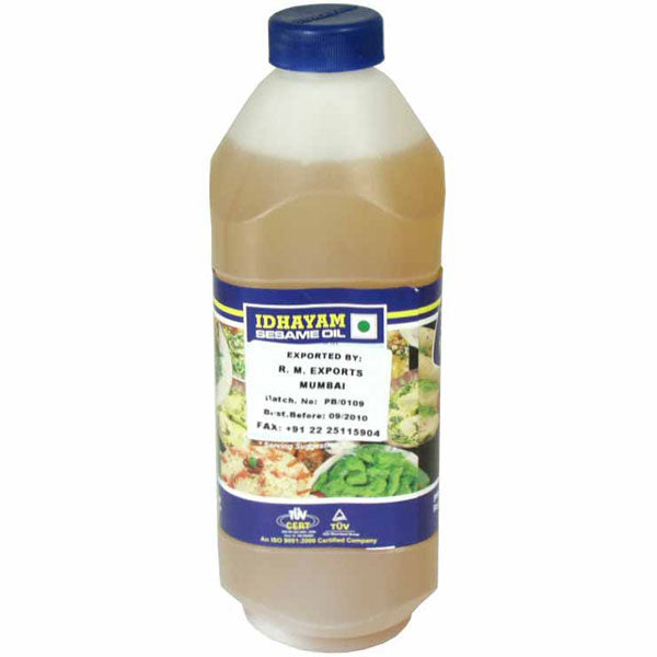 Idhayam Sesame Oil (Gingelly Oil) - 1L