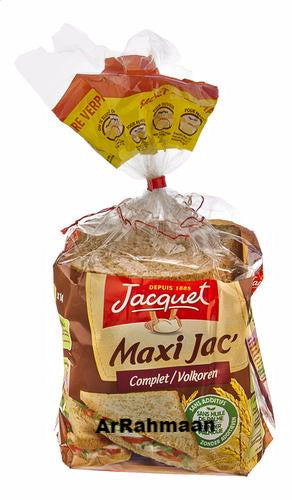 JACQUET Maxi Jac 'whole wheat toast bread 550g
