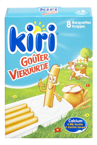 KIRI Cheese snack 8x35g