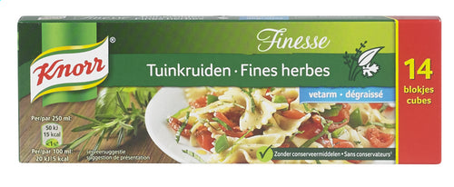 KNORR Fine Herbs 14 Low fat broth 140g