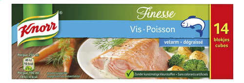 KNORR Original Finesse fish broth low 140g
