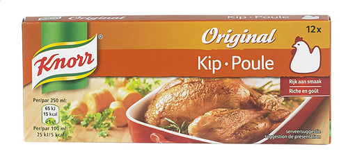 KNORR Original broth chicken 12 tables 120g