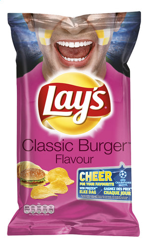 LAY'S chips Classic burger flavour 250g