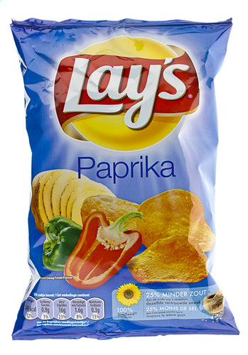 LAY'S crispy peppers 45g