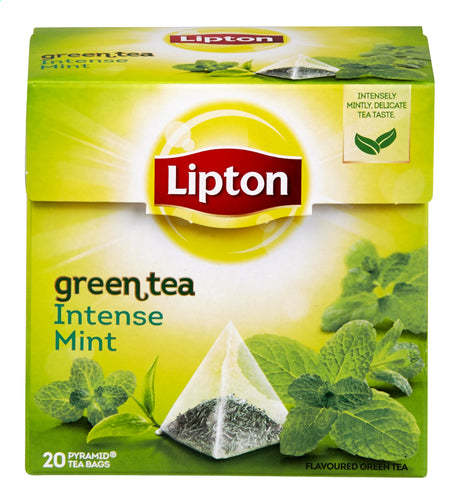 LIPTON Green Tea Intense Mint 20 bags 32g