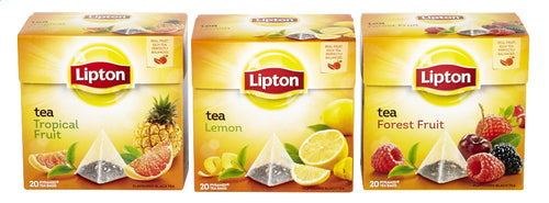LIPTON Pyramid Forest/Tropic/Lemon 20 bags 34g