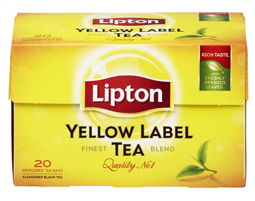 LIPTON Yellow Label tea 20 bags 30g