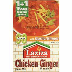 Laziza Chicken Ginger Masala 80g