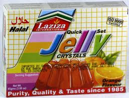 Laziza Jelly Orange 85g