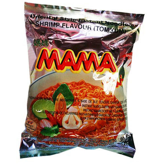MAMA Instant Noodle Shrimp Tom Yum 60g