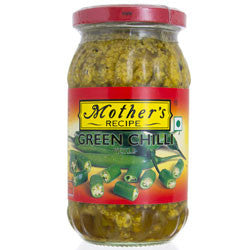 Green Chilli Pickle - Mother's Recipe 400g