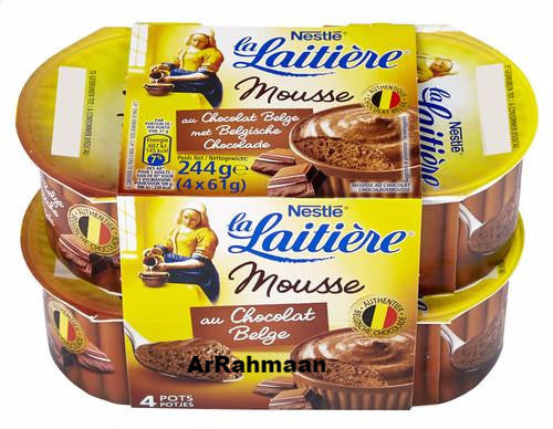 NESTLE LA LAITIERE Chocolate mousse 4x61g