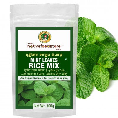 Nativefood store Mint Leaves Rice mix 100g