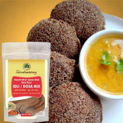 Nativefood store Red rice Idli/Dosa Mix 200g