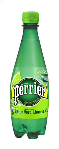 PERRIER sparkling water lime 500ml