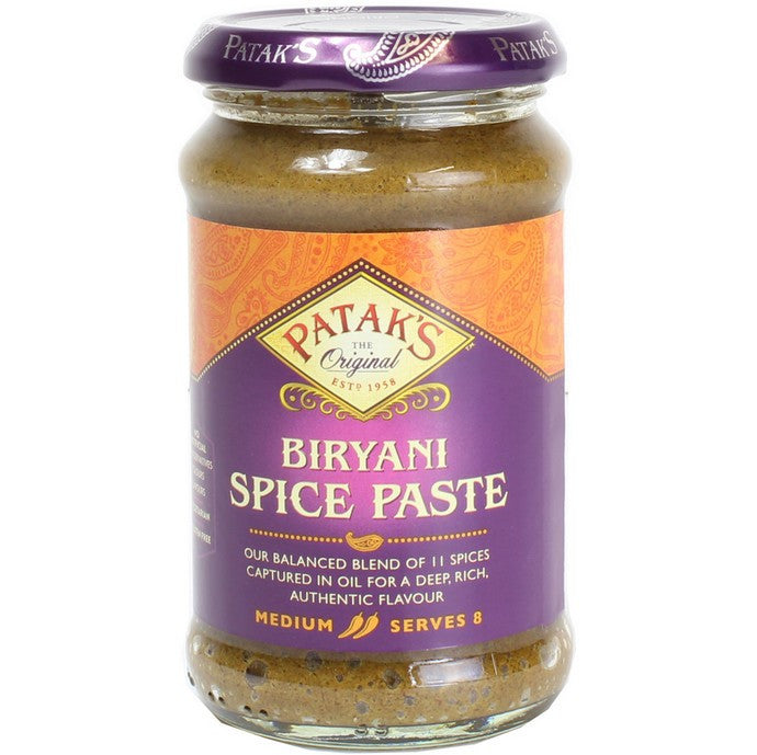 Patak Biryani Paste- Medium, 283g