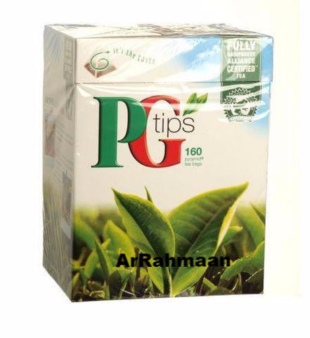 PG Tips Tea (160 Pyramid Tea Bags)