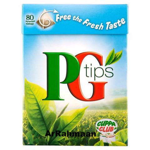PG Tips Tea (80 Pyramid Tea Bags)