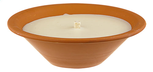 ROYAL FLAME terracotta candle 23.5cm