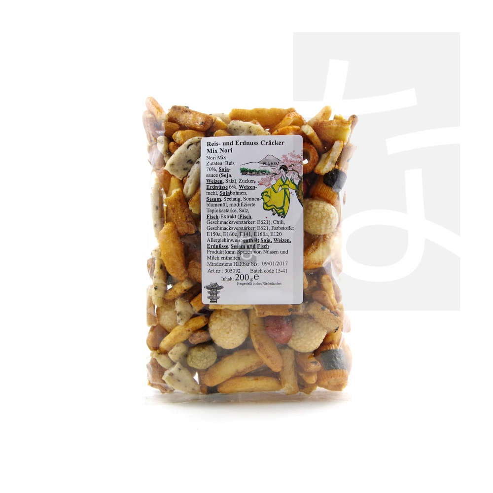 MISAKO Rice Cracker Mix w. Cheese 200g