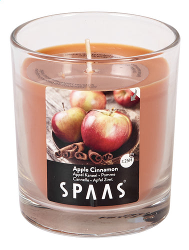 SPAAS Apple Cinnamon clear glass