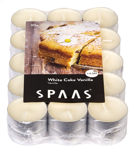 SPAAS White Cake perfume vanille 30 PIECES