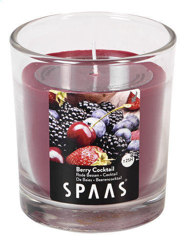 SPAAS transparent Berry Cocktail Candle