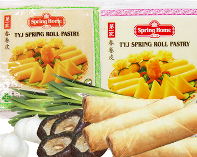 SPRING-HOME Spring Roll Pastry M - 215mm 550g