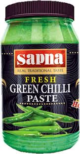 Sapna Green Chilly Paste 330g