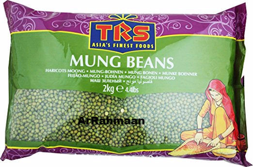 TRS mung Dal whole 2kg