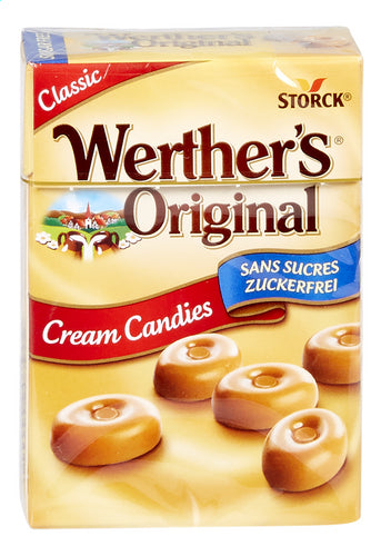 WERTHER'S ORIGINAL  Sugar free cream sweets with sweeteners 42g