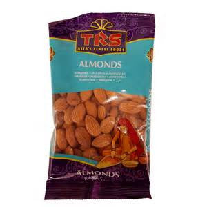 TRS Whole Almonds 100g
