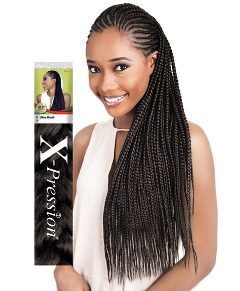 X-Pression hair Ultra Braid All Colors L: 82inch