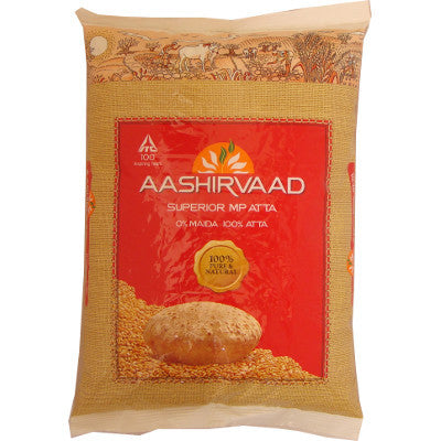 Ashirvaad Atta (whole wheat flour) - Export Pack, 10Kg