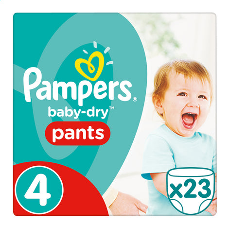 PAMPERS Baby-Dry pants 4 9-15kg 23st