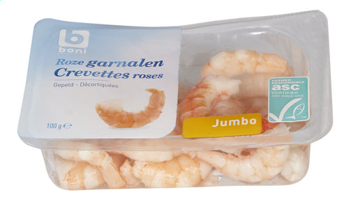BONI SELECTION pink shrimp Jumbo 100g