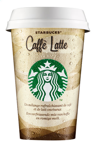 STARBUCKS DISCOVERIES Caffè Latte 220ml