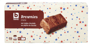 BONI SELECTION Brownies chocostuk 9 pieces-270g