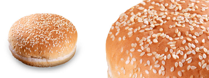 Serebis Mega Burger buns 4pieces 300g