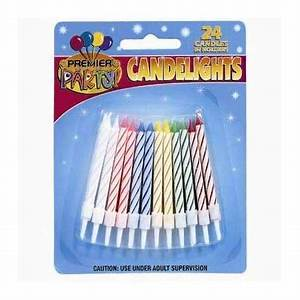 Party Stars Birthday candles 24set