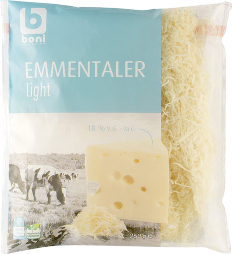 BONI SELECTION emmental light 250g