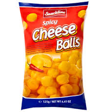 Snackline Cheese Balls 125g