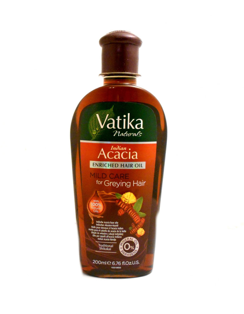 Dabur Vatika Hair Oil Indian Acacia (Shikakai) 200 ml