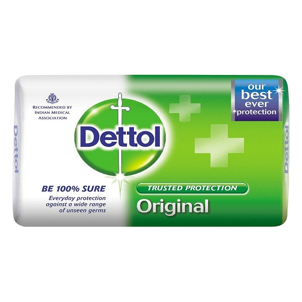Dettol Anti-Bacterial Soap Original 2*100g