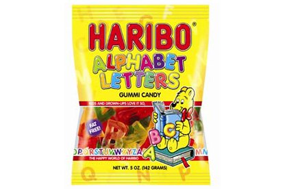 HARIBO ABC Letters 200g