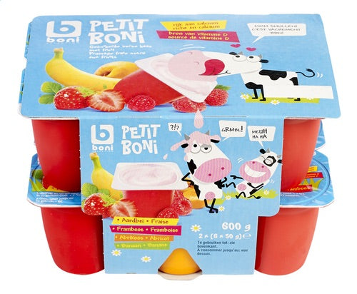 BONI SELECTION Petit Boni fruit 12x50g
