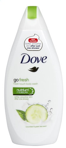 DOVE GO FRESH shower cucumber 500ml