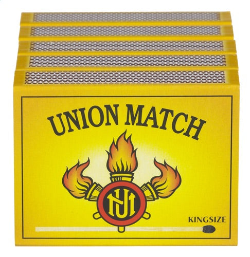 UNION MATCH matches Kingize 5x60st