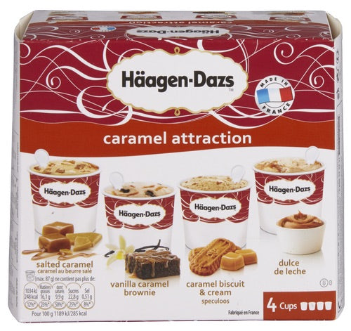 HÄAGEN-DAZS Caramel Attraction 4x100ml