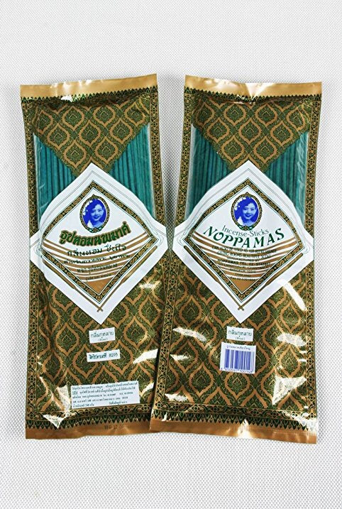Noppamas Incense Sticks 8 Inches 150 Sticks Jasmin Scent